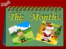 《January is the first month》Flash动画课件4