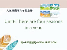 《There are four seasons in a year》PPT课件3