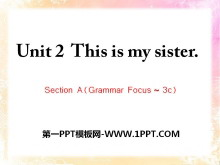 《This is my sister》PPT课件10