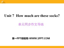 《How much are these socks?》PPT课件9