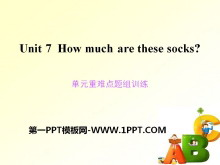 《How much are these socks?》PPT课件11
