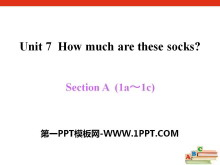 《How much are these socks?》PPT课件12