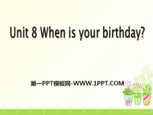 《When is your birthday?》PPT课件10