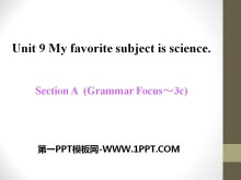 《My favorite subject is science》PPT课件14