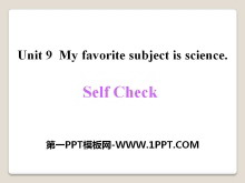 《My favorite subject is science》PPT课件17