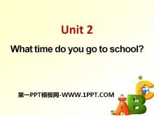 《What time do you go to school?》PPT课件10