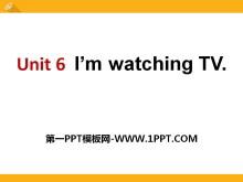 《I'm watching TV》PPT课件9