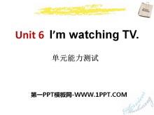 《I'm watching TV》PPT课件13
