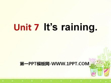 《It's raining》PPT课件7
