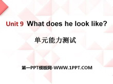 《What does he look like?》PPT课件11