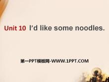 《I'd like some noodles》PPT�n件9