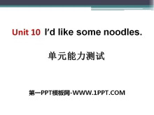 《I'd like some noodles》PPT课件12