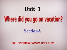 《Where did you go on vacation?》PPT课件14