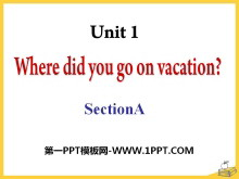 《Where did you go on vacation?》PPT课件17