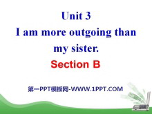 《I'm more outgoing than my sister》PPT课件23
