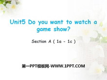 《Do you want to watch a game show》PPT课件16