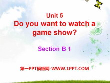 《Do you want to watch a game show》PPT课件21