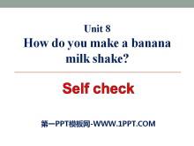《How do you make a banana milk shake?》PPT�n件22