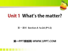 《What's the matter?》PPT课件12