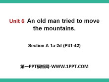 《An old man tried to move the mountains》PPT课件10