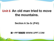 《An old man tried to move the mountains》PPT课件11