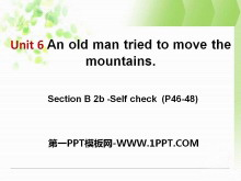 《An old man tried to move the mountains》PPT课件13