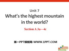 《What's the highest mountain in the world?》PPT课件9
