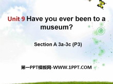 《Have you ever been to a museum?》PPT�n件12