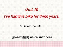《I've had this bike for three years》PPT课件10