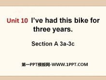 《I've had this bike for three years》PPT课件11