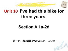 《I've had this bike for three years》PPT课件12