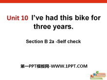 《I've had this bike for three years》PPT课件14