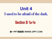 《I used to be afraid of the dark》PPT课件15