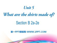 《What are the shirts made of?》PPT课件24