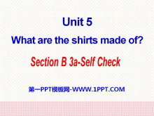 《What are the shirts made of?》PPT课件25