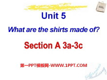 《What are the shirts made of?》PPT课件21