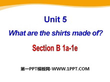《What are the shirts made of?》PPT课件23