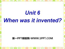 《When was it invented?》PPT课件24