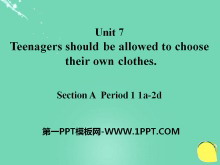 《Teenagers should be allowed to choose their own clothes》PPT课件20