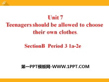 《Teenagers should be allowed to choose their own clothes》PPT课件22