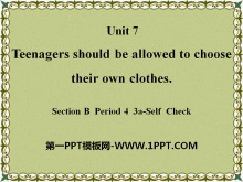 《Teenagers should be allowed to choose their own clothes》PPT课件23