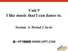 《I like music that I can dance to》PPT课件8