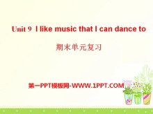 《I like music that I can dance to》PPT课件11