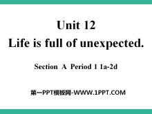 《Life is full of unexpected》PPT课件7