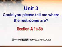 《Could you please tell me where the restrooms are?》PPT课件16