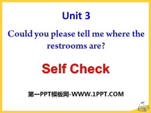 《Could you please tell me where the restrooms are?》PPT�n件19
