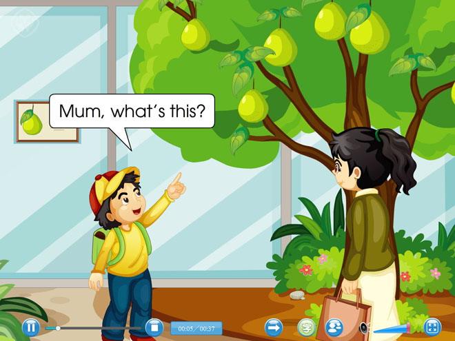 《It\s a grapefruit》Flash动画课件
