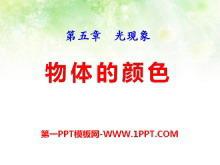《物体的颜色》光现象PPT课件3