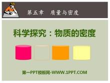 《科学探究:物质的密度》质量与密度PPT课件