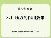 《压力的作用效果》压强PPT课件2